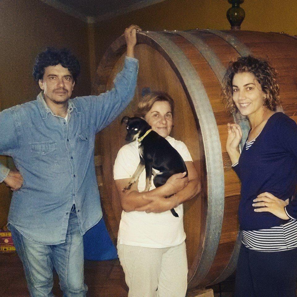 La famiglia Zazzera, azienda agricola